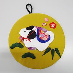 干支の壁飾り 700円(税込)